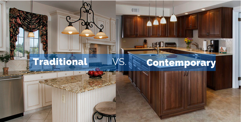 Traditional kitchens vs contemporary kitchens which is Traditional vs contemporary design