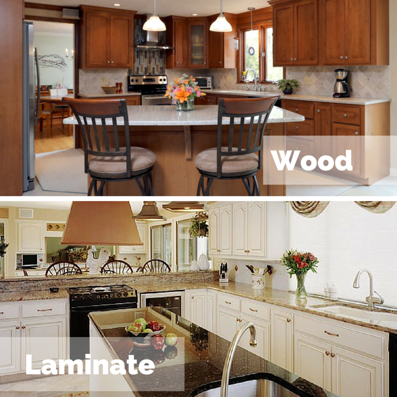 How Reface Kitchen Cabinets: Which Is Better For Cabinet Refacing: Laminate Or Wood?