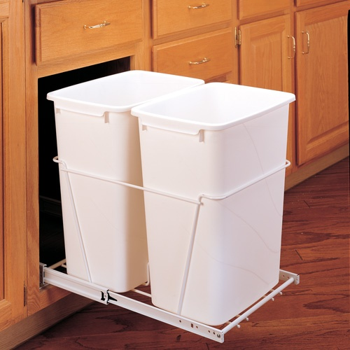 Double Pull Out Trash Bin