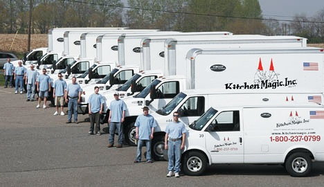 Kitchen Magic Truck Fleet